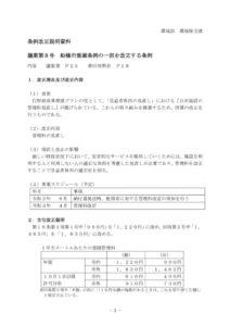 20191113霊園・霊堂の値上げ条例案のサムネイル